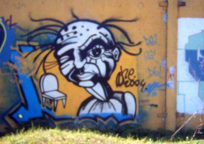 2004 TOOL - THE CHAIR, graffity, Kaia Otstak