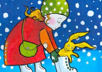 2007 TALI III - WINTER III, tint, pliiats - ink, pencil, A4, illustration for the magazine Mesimumm, Kaia Otstak