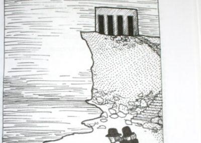 2010 AK1 O4, tušš - indian ink, A6, illustration for the journal Akadeemia, Kaia Otstak