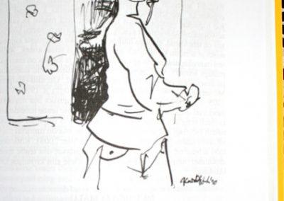 2010 AK2 OI, tušš - indian ink, A6, illustration for the journal Akadeemia, Kaia Otstak