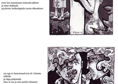 2010 GRAFONAUDID 06, tint - ink, A4, Kaia Otstak