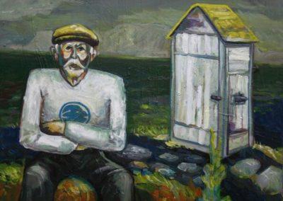 2010 MESIPUU - THE BEE TREE, akrüül lõuendil - acrylic on canvas, Kaia Otstak