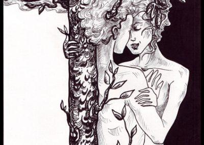 2011 KOGNITO illustration 01, tint - ink, A4, Kaia Otstak