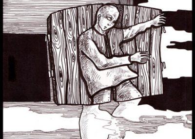 2011 KOGNITO illustration 02, tint - ink, A4, Kaia Otstak