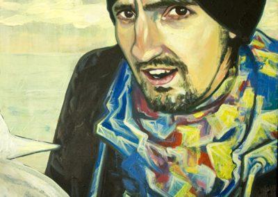 2011 MADIS, akrüül lõuendil - acrylic on canvas, 50 x 40 cm, Kaia Otstak