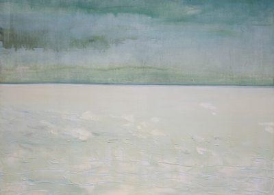 2011 Rahuaeg - Peace Time, PIIRIMAA NR. 7 - BORDERLAND NR. 7, akrüül lõuendil - acrylic on canvas, 114 x 134 cm, Kaia Otstak