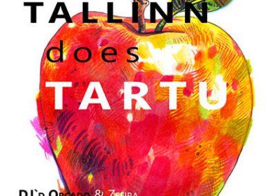 2014 BALKAN BEATS TALLINN DOES TARTU poster design and illustration, segatehnika - mixed technique, Kaia Otstak