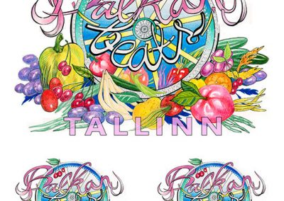 2014 BALKAN BEATS TALLINN logo, Kaia Otstak
