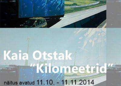 2014 KILOMEETRID poster MoKS, Kaia Otstak