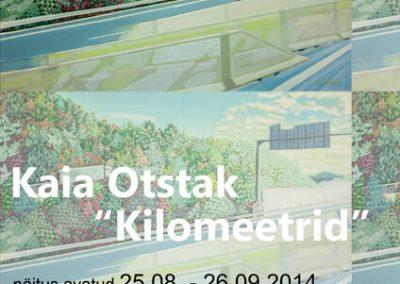 2014 KILOMEETRID poster Voru, Kaia Otstak